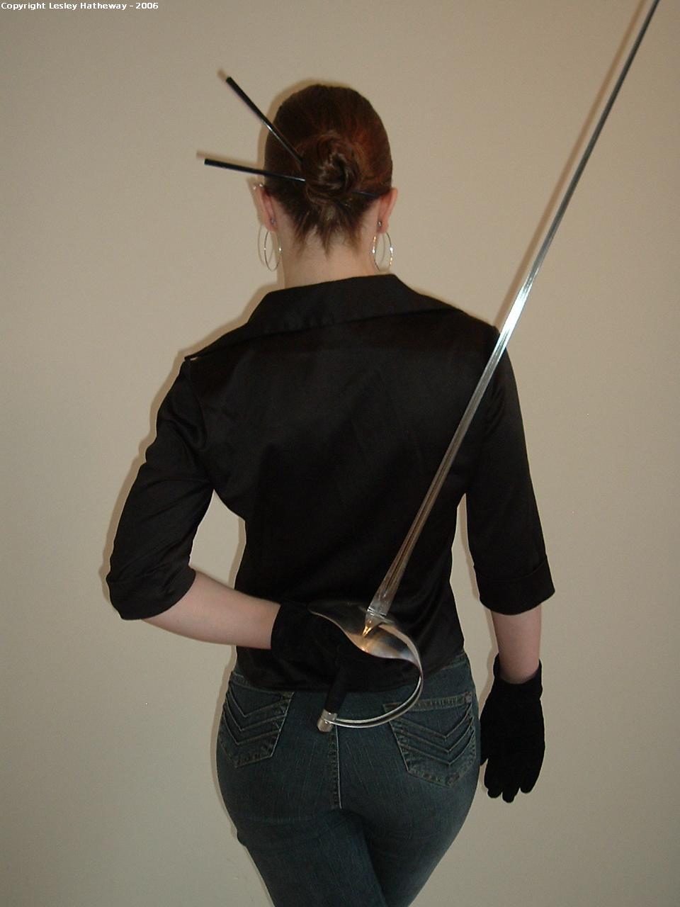 Sword Pose 11 By Lesleyhat On Deviantart