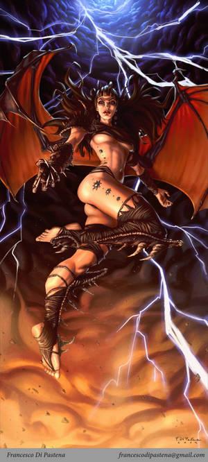The Evil Angel by francescodipastena