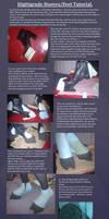Draenei Digitigrade hooves/feet tutorial