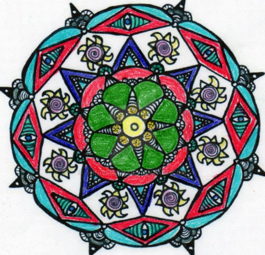 cherokee mandala coloring pages - photo#9
