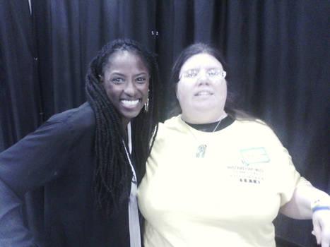 Me and Rutina Wesley @ Wizard World Tulsa 2014