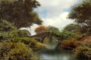 Waterway Bridge by DIGITAL-DOM