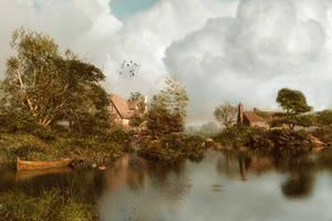 Still Waters by DIGITAL-DOM