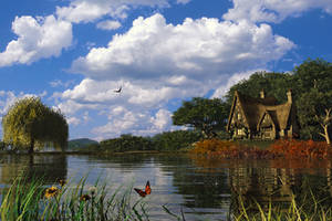Bucolic Dwelling by DIGITAL-DOM