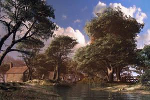 Woodland abode by DIGITAL-DOM