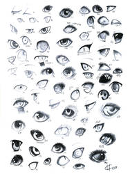 70 eyes by Meushi-san