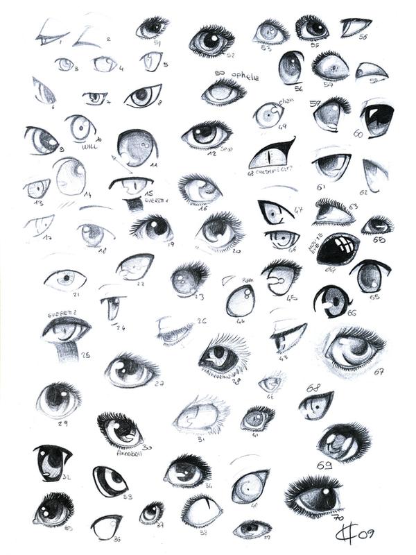 70 Eyes By Meushi San On Deviantart