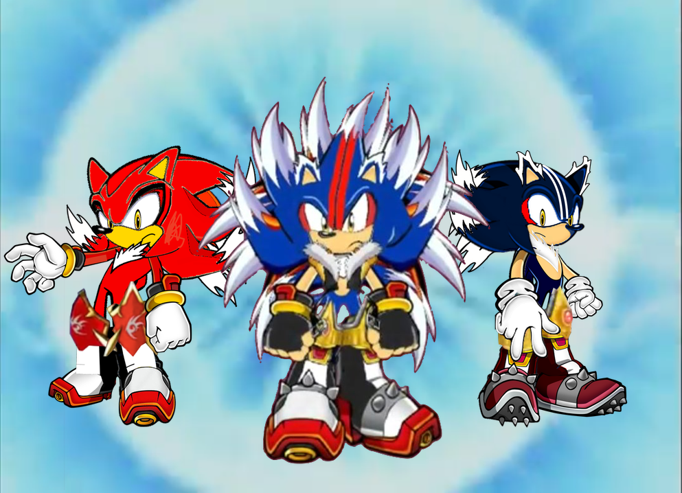 Sonic fusion 1 by mrmephilesthedark on deviantart for 1 2 3 fusion