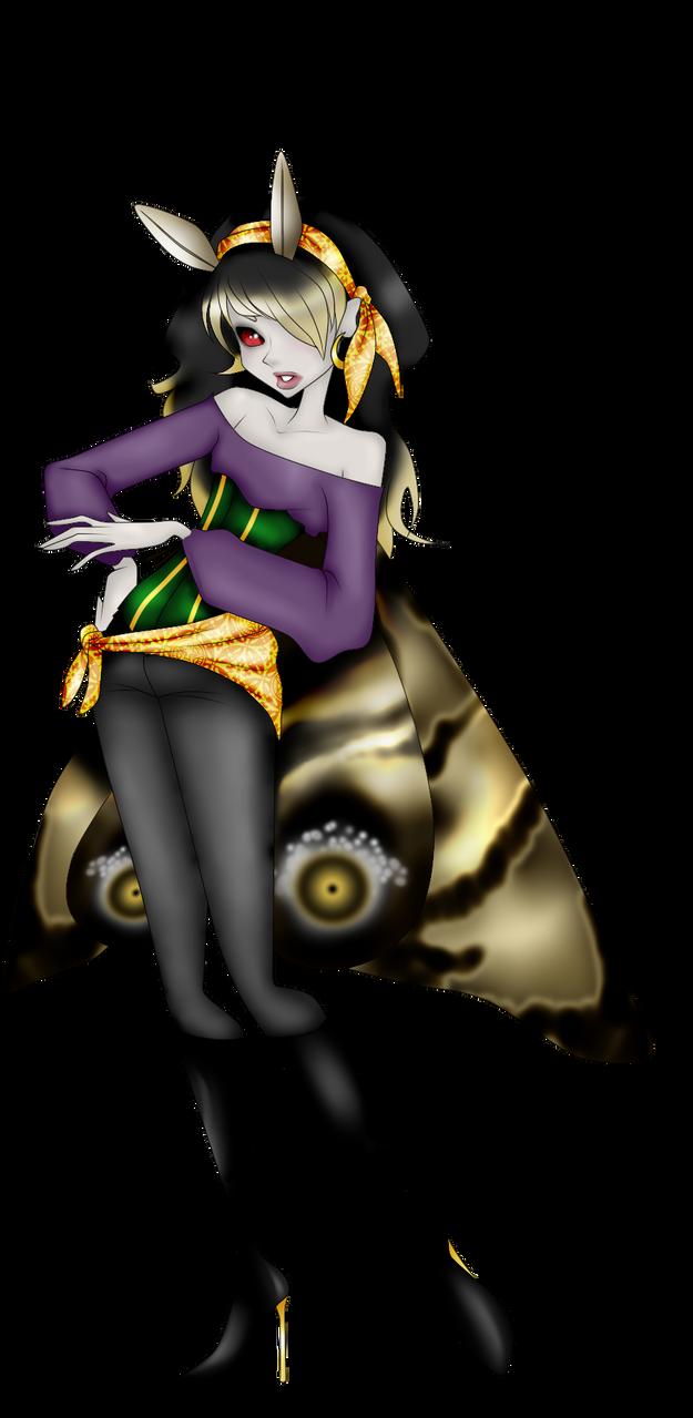 Gypsy Moth by xXxDechuu-KunxXx