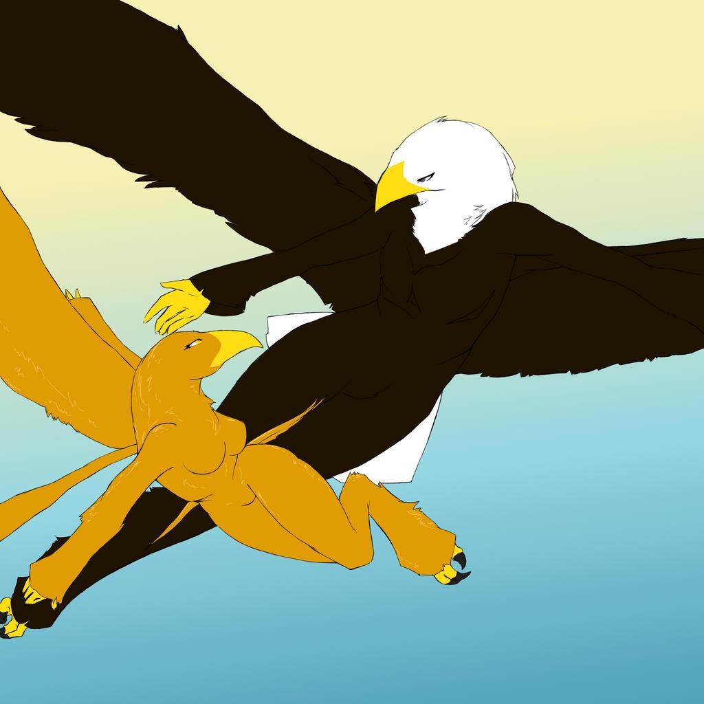 ::Eagles for Skyworthy:: by Kanji-or-Koi