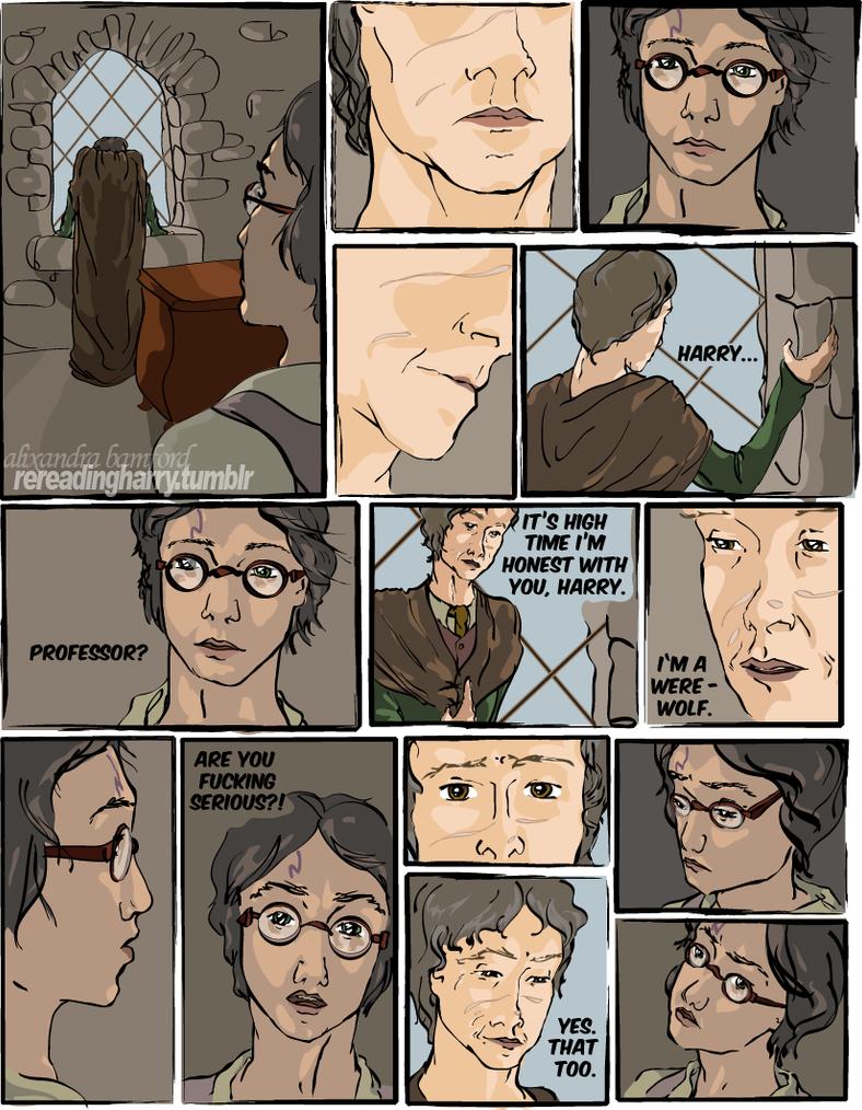 Remus Lupin Werewolf Fan Art