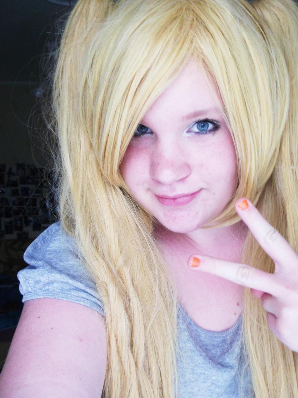 A Blonde Wig 104