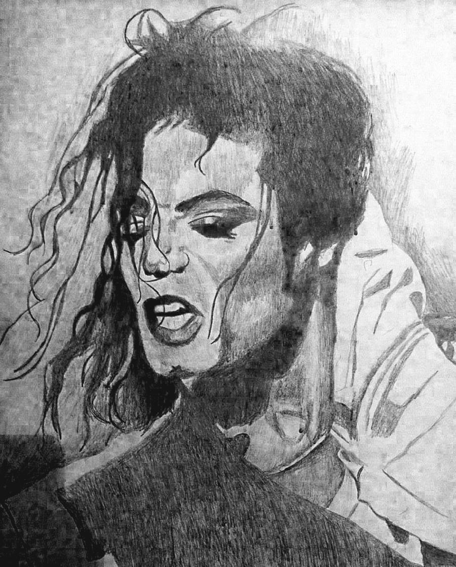 Michael Jackson Sketch By Dezz1977 On DeviantArt