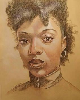 portrait of ororo