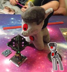 Chibi OC - Robot Octavia MK1 by One-Violet-Rose