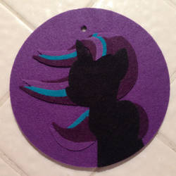 Feltcraft Starlight Glimmer car ornament by One-Violet-Rose