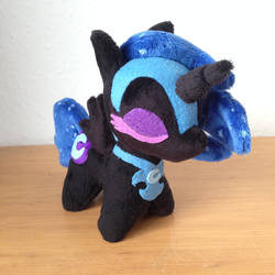 Chibi Nightmare Moon (updated) by One-Violet-Rose