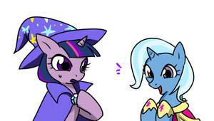 Twilight with Trixie