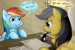 Rainbow Dash and Daring Do