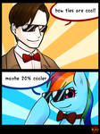 bow ties are 20% cooler