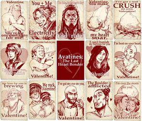 A Very Avatar Valentine's Day by Kundagi