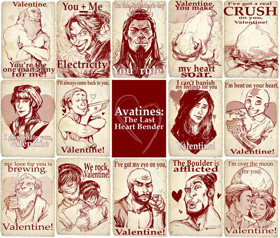 A Very Avatar Valentine's Day by Kundagi