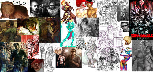 That's alot of fanart by Kundagi