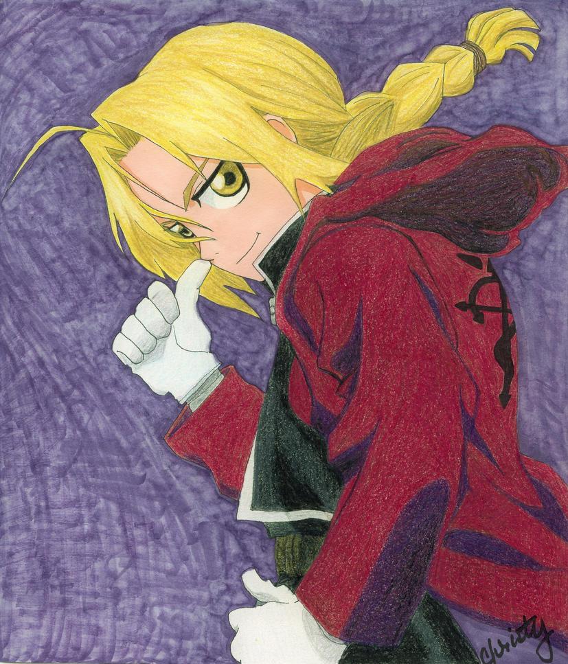 Edward Elric by Kurisuko-sama