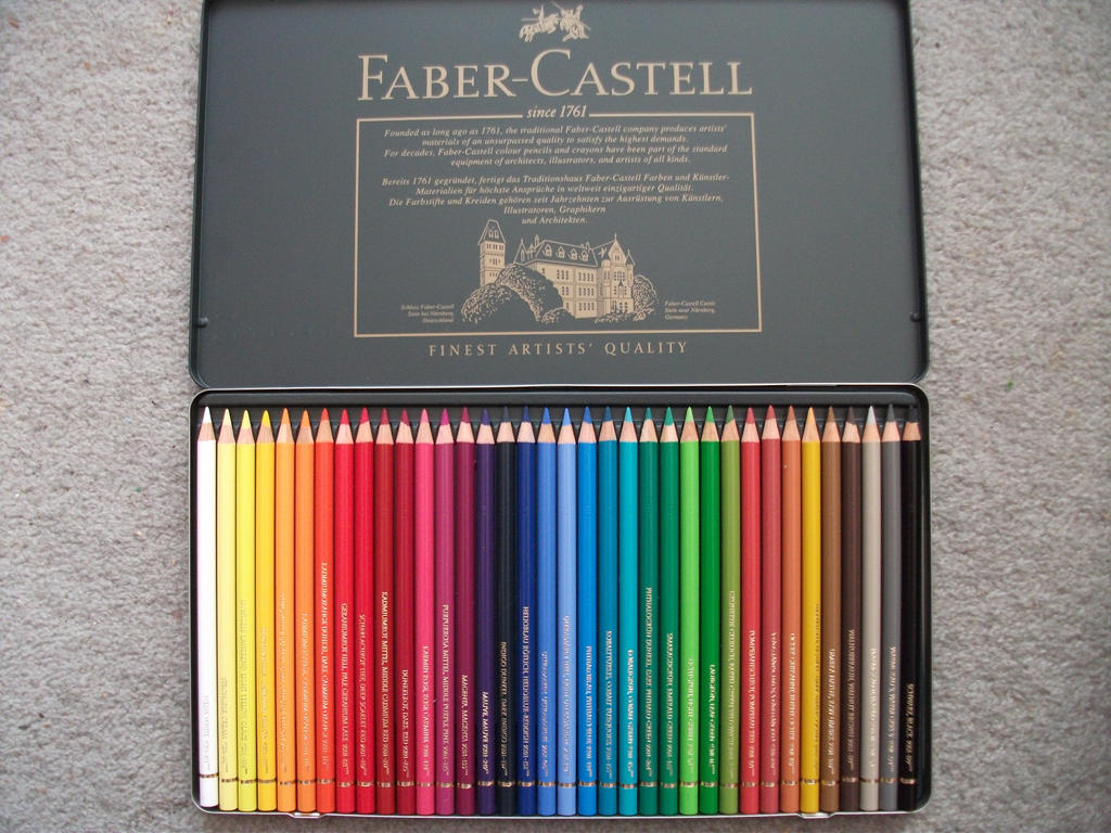 My New Faber Castell Colouring Pencils by Slinkgirl95 on DeviantArt