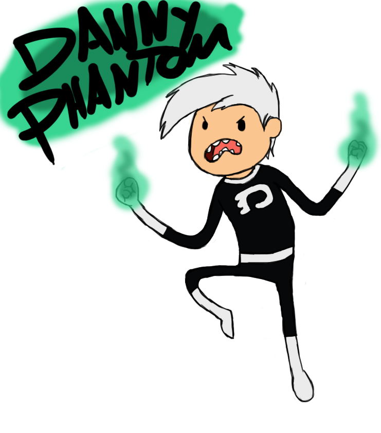 Danny Phantom (Adventure Time style) by AlphaZ3R0 on DeviantArt