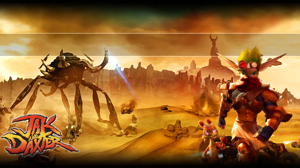 Download Jak Daxter Wallpapers: Jak 3 PS3 Background By AlphaZ3R0 On DeviantArt