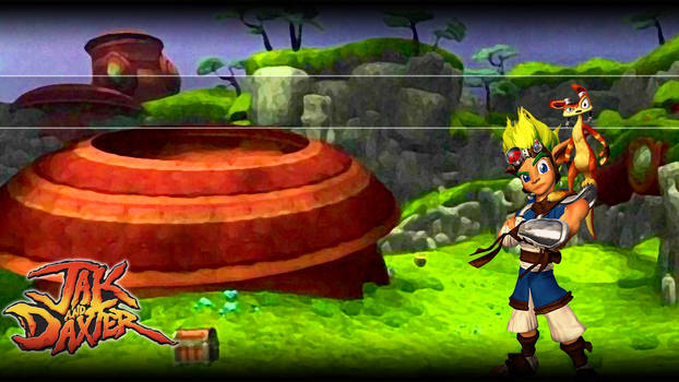 Jak and Daxter PS3 Background
