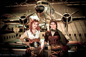 Aviation Dieselpunk by orlarose