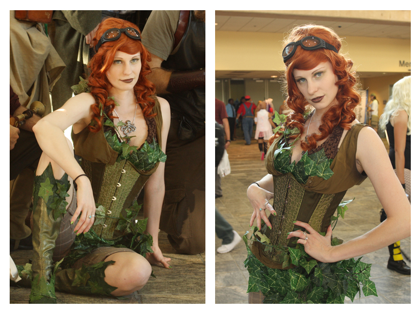 Steampunk Poison Ivy Cosplay by orlarose