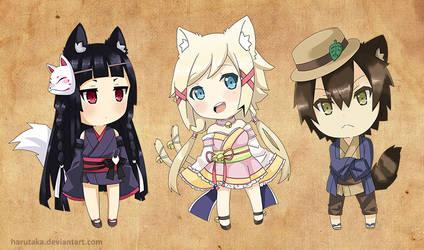 Chibi Set 2 by Harutaka