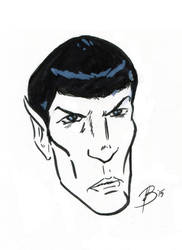 Leonard Nimoy: Two-Minute Tribute by ocdisforme