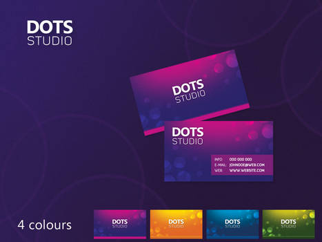 Dots business cards