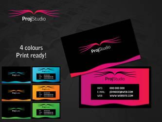 Proj Business Card by czaker