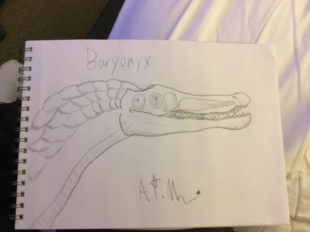 Baryonyx by SilverTheSerperior