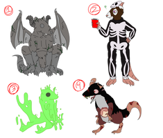 Halloween Mouse and Rat adopts (OPEN)