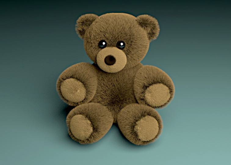 Teddy for my grandson Raz (3 D model done by me) by awesome43