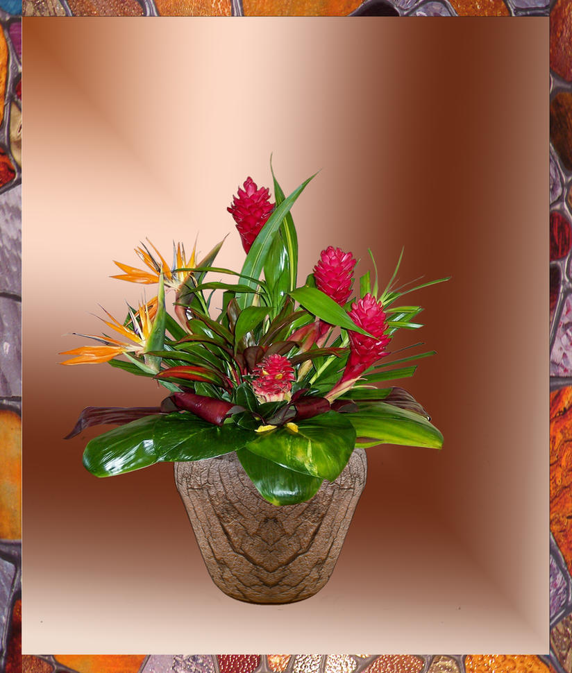 Glory (Vase is a 3D model created by me) by awesome43