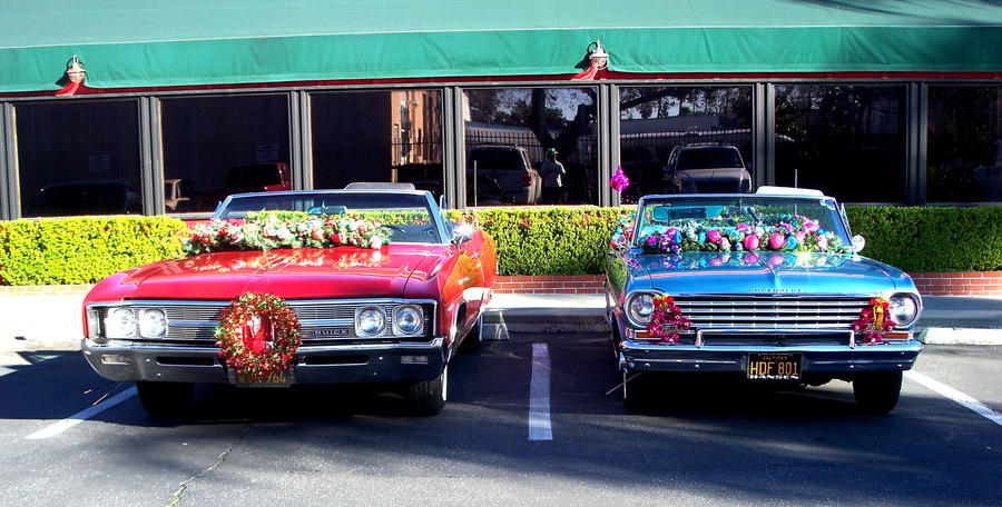 Scarlett and the 63 Nova SS the last parade. by awesome43
