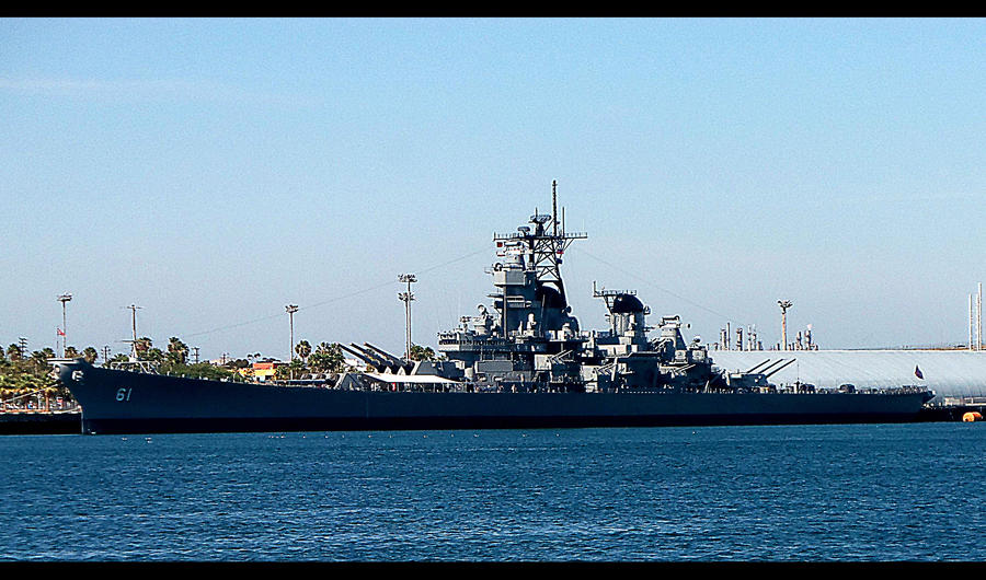 USS IOWA BB-61 BATTLESHIP #1 in Ship / Boat Series by awesome43