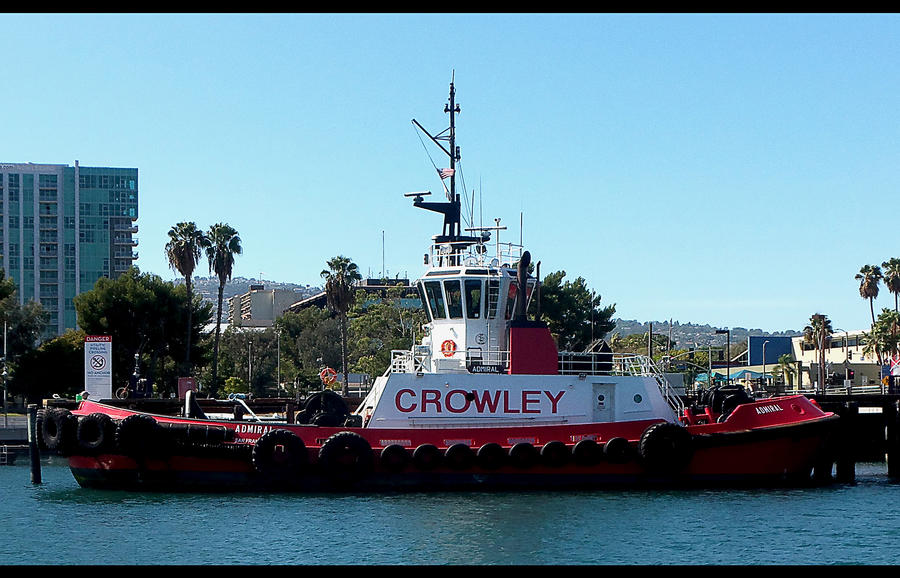Crowley Tug Boat #3 in Ship / Boat series by awesome43