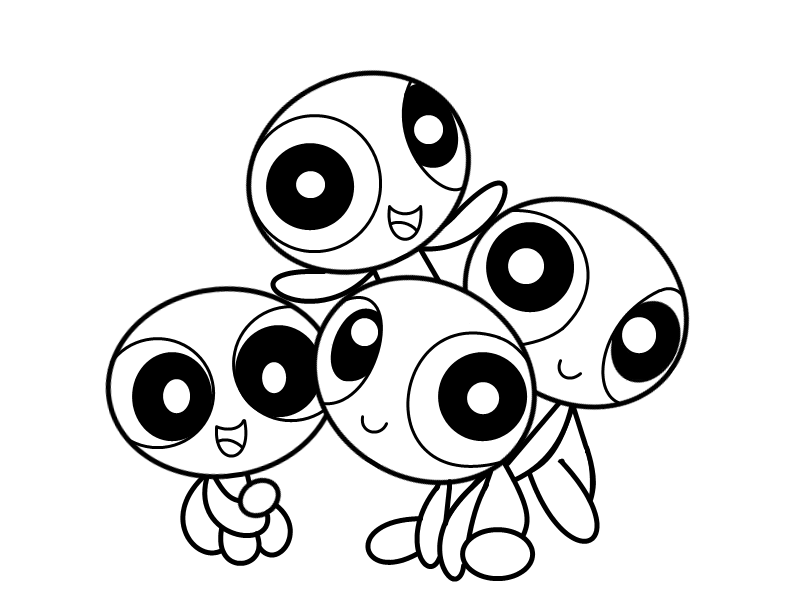 Image Result For Powerpuffs Coloring