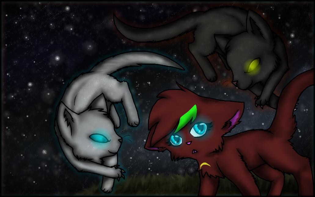 Art Trade - Felinemon by Purrlstar