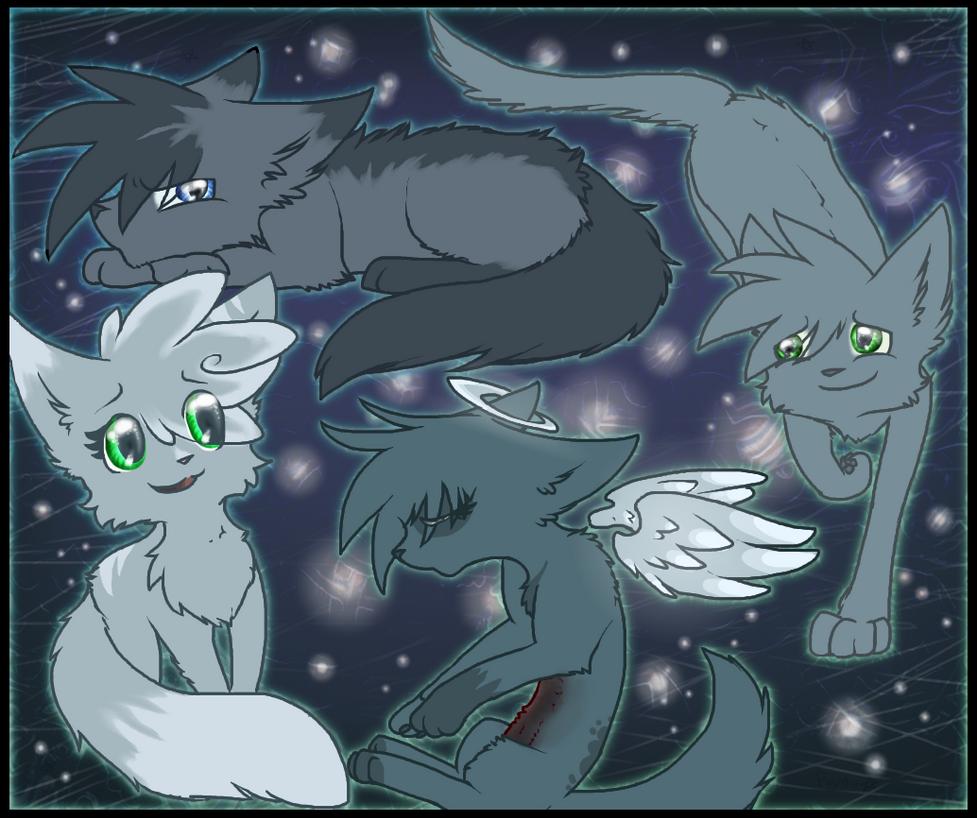 Celestial Siblings by Purrlstar