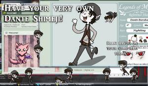 Dante Shimeji!
