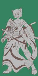 Saki Shiori, the Ninja Samurai by SCPilot